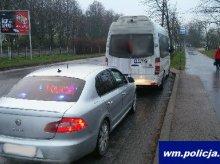 Pijany kierowca busa zatrzymany na Dworcowej. Wpadł, bo rozmawiał przez telefon