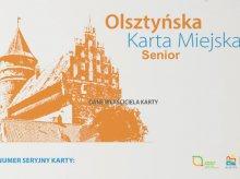 Karta dla seniora z Olsztyna [INFORMATOR]