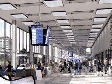 Tak może wyglądać Dworzec Główny w Olsztynie [WIZUALIZACJE]