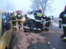 Wypadki, kolizje i auta w rowach. Uwaga na drogach regionu [ZDJĘCIA]