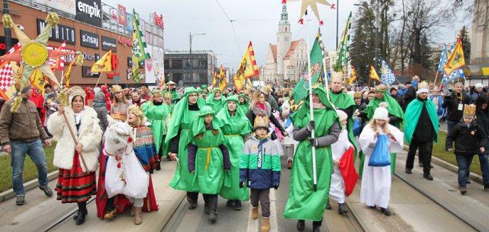 V Olsztyński Orszak Trzech Króli przeszedł ulicami Olsztyna [ZDJĘCIA]