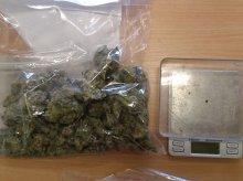 W torbie na trening nosił słoik z narkotykami