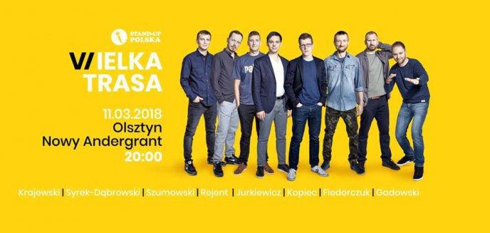 Wielka Trasa Stand-up Polska. Komicy zawitają do Olsztyna