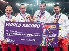 Rekord świata polskiej sztafety i gigantyczny sukces olsztyńskiego sprintera!