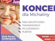 Enej i Transsexdisco w Adergrancie. Grają dla Michalinki