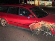 Pijany kierowca na ul. Bałtyckiej w Olsztynie. Spowodował kolizję, chciał uciekać. Ujęli go świadkowie