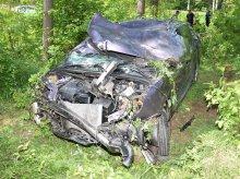 Dwa groźne wypadki na tej samej drodze