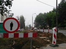 Prace przy skrzyżowaniu ulicy Jagiellońskiej z Borową. Będzie sygnalizacja świetlna