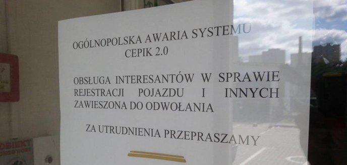 Ogólnopolska awaria państwowych systemów informatycznych