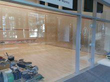 Remont kortów do squasha w Centrum Ukiel. Jest jedno ''ale''