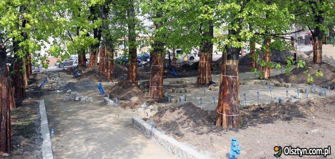 Już w piątek skwer przy placu Pułaskiego zostanie otwarty