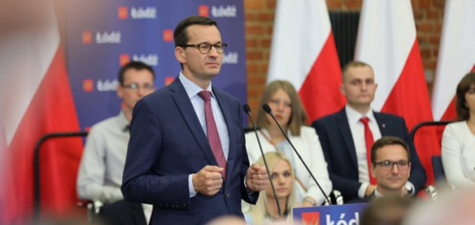 Premier Mateusz Morawiecki spotka się z mieszkańcami Olsztyna