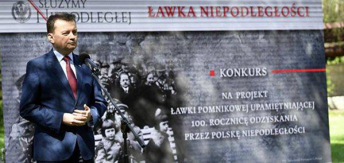 W Olsztynie staną ''Ławki Niepodległości''?