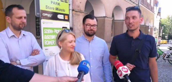 Platforma Obywatelska i jej kandydat na prezydenta Olsztyna o rowerze miejskim. Co obiecują?