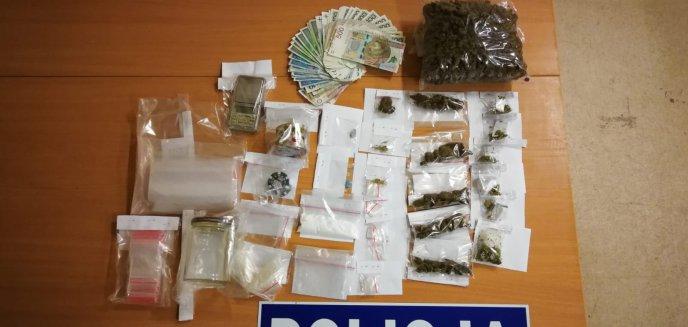 Marihuana, ecstasy i biały proszek. Kolejny posiadacz narkotyków zatrzymany [ZDJĘCIA, WIDEO]