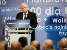 Kaczyński w Olsztynie o ''ojkofobii sędziów''. KRS zajmie się słowami prezesa PiS?