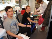 Zbiórka krwi na rzecz prorektora UWM