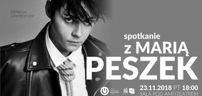 ''Depresja a patriotyzm''. Spotkanie z Marią Peszek w Olsztynie