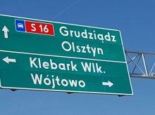 Na obwodnicy Olsztyna montują oznakowanie pionowe