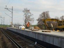 Nowe perony na Warmii i Mazurach