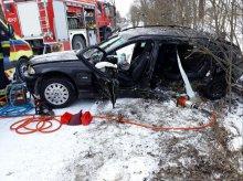 Tragiczny wypadek: 30-latka zginęła na miejscu.  Jechała z 5-letnim synkiem