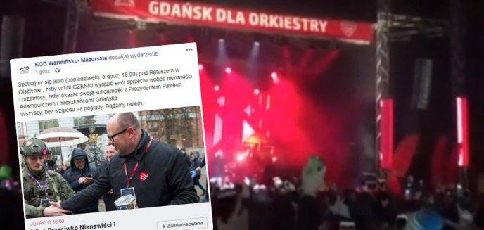 Tragedia w Gdańsku. KOD organizuje w Olsztynie wiec przeciwko nienawiści i przemocy