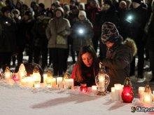 Na olsztyńskiej starówce ułożą ''serce świata'' dla zmarłego prezydenta Gdańska