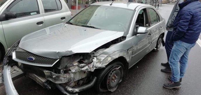 Pijany kierowca szarżował w centrum Olsztyna