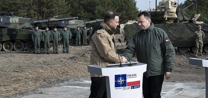 ''NATO week''. Do Orzysza przyjedzie Prezydent RP i szef MON