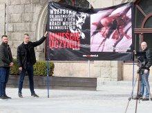 Pod ratuszem przeciwnicy aborcji walczyli o ochronę życia [ZDJĘCIA]
