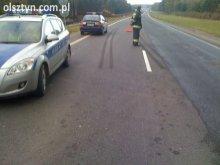 Tragiczny wypadek koło Bezled - krajowa K-51 zablokowana