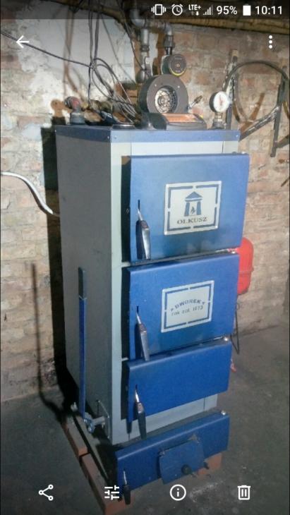 KOCIOŁ Dworek 19 kW Piec