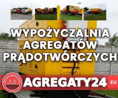 Wypożyczalnia, wynajem agregatów prądotwórczych Warmińsko-Mazurskie Olsztyn