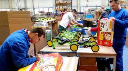 Pakowacz zabawek w Niemczech