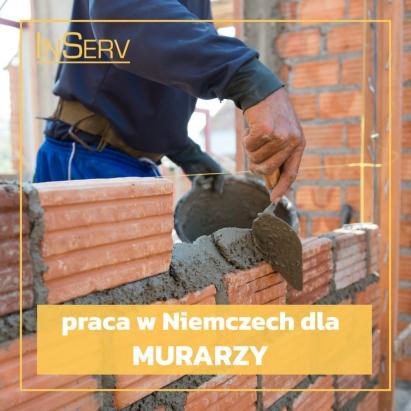 Praca murarz, praca Niemcy