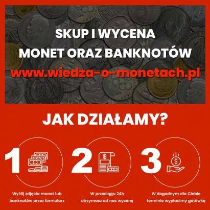 Skup i wycena monet i banknotów Olsztyn