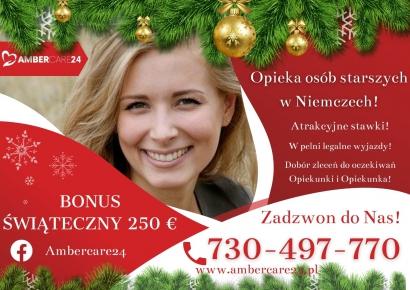 Praca w opiece w Niemczech! Zarobki do 1800€