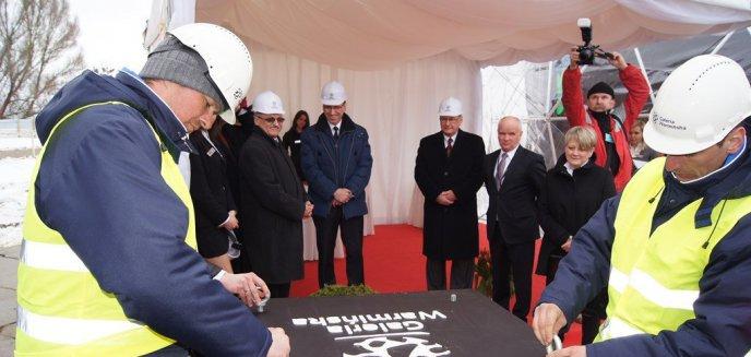 Artykuł: Wmurowali kamień węgielny pod inwestycję wartą 100 milionów euro!