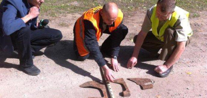 Artykuł: Średniowieczne topory wykopane w warmińskim lesie