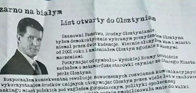 Artykuł: Małkowski: Nie dajcie się zwieść nienawistnej kampanii wobec mnie