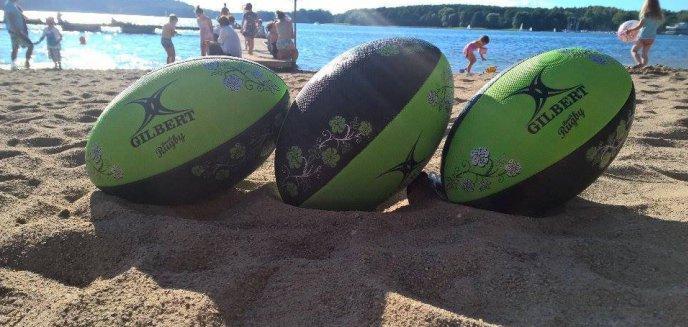 Artykuł: W rugby na plaży nad Ukielem!