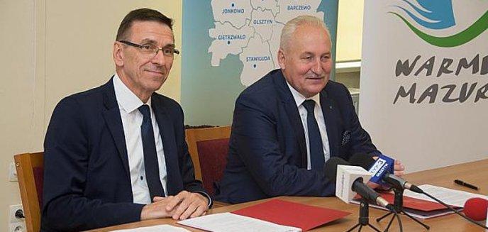 Artykuł: Marszałek dołożył do połączenia Olsztyna z obwodnicą