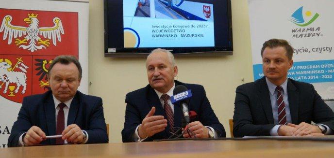 Artykuł: Modernizacja połączenia kolejowego Gutkowo-Braniewo. W rezerwie Olsztyn-Gutkowo