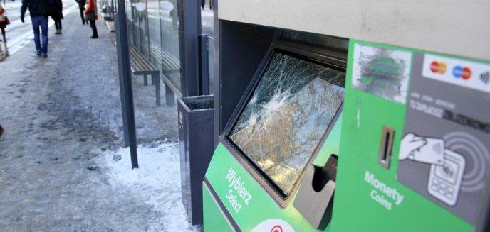 Artykuł: Zniszczyli kolejny biletomat