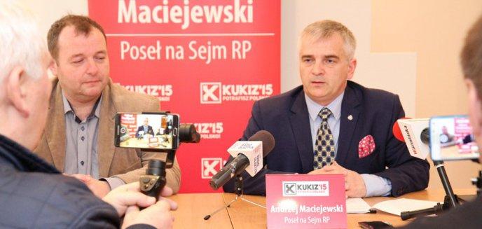 Andrzej Maciejewski podsumował minione miesiące działalności w Sejmie [FOTO]