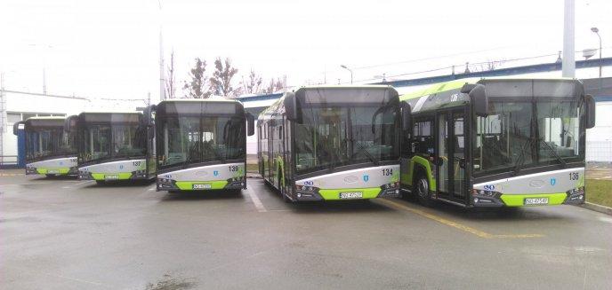Artykuł: Nowe autobusy wyjechały na olsztyńskie ulice