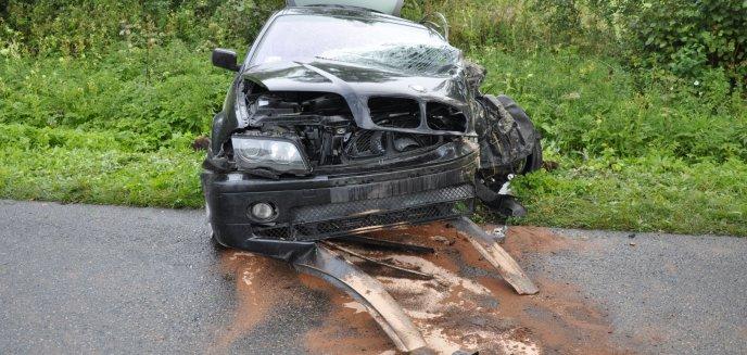Artykuł: Poważny wypadek na trasie Dobre Miasto-Lubomino