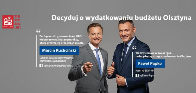 Artykuł: Robią politykę na sukcesie Olsztyńskiego Budżetu Obywatelskiego. Prezydent Olsztyna krytykuje działaczy PO
