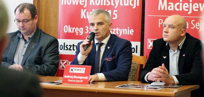 Kukiz'15 o samorządach i zakazie handlu w niedzielę