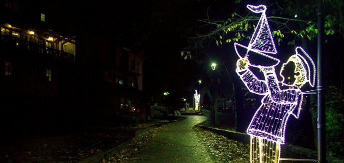 Artykuł: W Parku Podzamcze pojawiły się świetlne dekoracje [ZDJĘCIA]